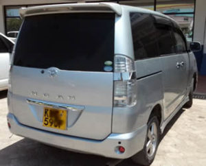6a3bbca2a9 -9 Seater Van  Ideal for 6-9 pax –  100 (From(NBO) JKIA Airport to Wilson  Airport or Nairobi city hotels)